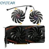 T129215SU GV-RX570 / RX580 Gaming GV-RX470 WF2 / RX480 WF2 88mm Ventilador para cartões Gigabyte Fan