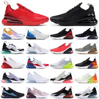 2021 Nova almofada 270 Sneakers mens tênis Czy Rainbow Heel Treinador Estrela Estrela Platinum Jade BREED Mulheres 27c Sports 270s tamanho 36-45