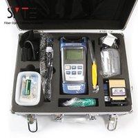 Faseroptikausrüstung 17pcs / satz FTTH Tool Kit Leistungszähler Locator Stripper FC-6S Cleaver Cabinet