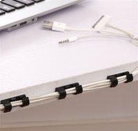 Línea de datos blanca Almacenamiento Finisher Hogar Color Puro Red Cable de fijación CLIP AutoHesion Wire Rose Administración Dispositivo Caliente Venta caliente 1 15ZL J2