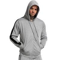 Corriendo chaquetas para hombre deportes sudadera hombre chaqueta de manga larga otoño primavera sudaderas sudaderas hombres con mangas con cremallera