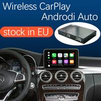 Беспроводной интерфейс Carplay для Mercedes Benz C-Class W205 GLC 2015-2018, с Android Auto Morker Link Airplay Car Play
