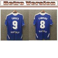 05 06 2011 Retro Soccer Jersey Lampard Torres Drogba 11 12 Final Terry David Luiz Mata Football Shirts Camiseta Shevchenko Hasselbaink