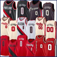Damian 0 Lillard Carmelo 00 Anthony Basketball Jersey