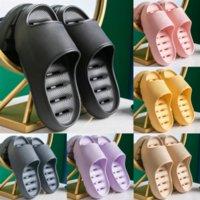 YHVD İşlemeli Loafer'lar Terlik Lüks Tasarımcı Sandalet Plaj Slayt Terlik Kız Flip Flop Terlik Toddler Bayan Güzel.