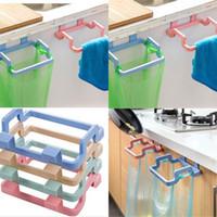 Простой мешок для мусора пластиковый чистый цвет висит тряпичная держатель бытовой полки подходит для ванной кухни 0 95OH E1
