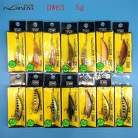 Tsurinoya Nuovo prodotto 14 colori 5G / 5CM Bait Hard Bait Small Minnow Pish Peschette Esche BASSA BASSARE WABBLED DI PESCA Y200911