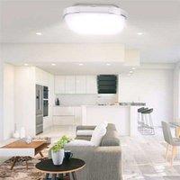 뜨거운 판매 85-265V LED 천장 조명 사각형 모양 조명 거실 침실 램프 무단 디밍 (18W) 고휘도 천장 조명