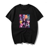 Erkek Unisex Hip Hop Naruto Ağrısı Tops Itachi Anime T-shirt Erkek Harajuku Japon T Gömlek Erkekler Karikatür Akatsuki Takım Komik Tee1 Erkekler T