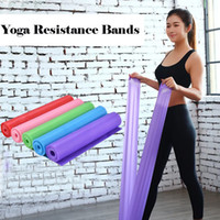 5 Colors Latex Yoga Resistance Band Fitness Elastic Tension ...