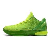 Proto 6 Schoenen Zwart Goud Cool Mens Basketbal 6s Grinch Think Pink Men Athletic Sports Sneakers 40-46