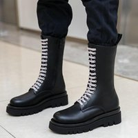 2020 NEW Women Boots Fashion Flat Heel Mid Calf Boots Comfor...