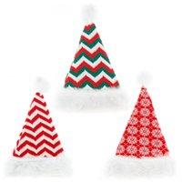 لوازم عيد الميلاد قبعة سترة محبوك قبعة صغيرة حك سانتا قبعة عيد الميلاد هدية عيد الميلاد السنة الجديدة حزب زينة JK2010PH
