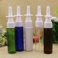50pcs / lot 30ml Bottiglia di spruzzo nasale colorato 30ml della bottiglia medica di plastica Plastica Plastica Plackbesbest di Bottlesbest