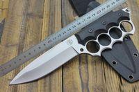 Knuckle Duster Askeri BM BK 440 C Blade Teknik Kuveler Orman Mücadele Yürüyüş Bıçaklar Taktik Survival Avcılık Bowie Savaş Dişli Aracı Bıçak