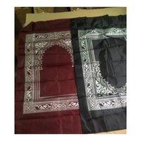 4 cores Islamic Travel Pocket Packing Tapete com Bússola Oração Muçulmana R Jllojm Lucky2005