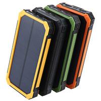 TollcUUDDA 20000mAh Solar Powerbank para LG Teléfono Power Bank Cargador Batería Portátil Banco móvil PowerBank DHL
