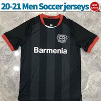 20 21 Bayer Leverkusen Fußball-Trikot nach Hause schwarz rot ALARIO BAILEY 20/21 Männer Fußballhemd maßgeschneiderter Fußball Uniformen
