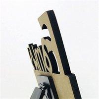 Woodiness Sublimation Quadros em branco MDF DIY Três Dimensional Hollowing para fora em branco Slate Carta Forma Laser Corte Home Acessório HHD4754