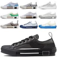 2021 B23 Designer Sneakers obliques couro técnico alta plataforma de flores ao ar livre sapatos casuais tamanho vintage 36-45 # 898
