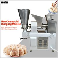 Procesadores de alimentos Xeoleo Máquina de masa de masa de masa Máquina automática de acero inoxidable Dúrlo de acero inoxidable Fried Dumpling / Samosa / Rollo de resorte 3600PCS / H
