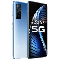 "Original Vivo iQOO 5 5G Handy 8 GB RAM 128 GB ROM Snapdragon 865 Octa Kernandroid 6,56"" Full Screen 50MP NFC Wake Face ID Handy"