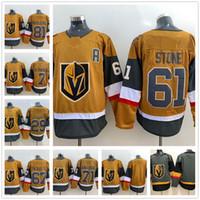 2020 Hombres Vegas Golden Knights 61 Piedra Hockey Jersey 29 Fleury Gray Home 71 Karlsson 81 Marchessault 56 Havla 18 Nerl 4 Stoner 6 Miller