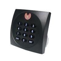 액세스 제어 카드 리더 Wiegand 26 34 키패드 RFID 125khz 13.56MHz 액세스 제어 슬레이브 카드 리더 KR602E KR602M