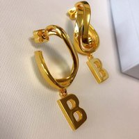 American and American fashion hot style pendant letter earri...