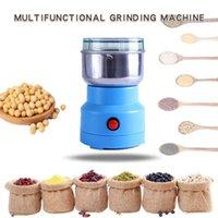 Multi máquina elétrica do moedor de café 220 v / 110v Poderoso feijões de café grãos de grãos de esmérica moedor Smash Machine Blindernut para Home1
