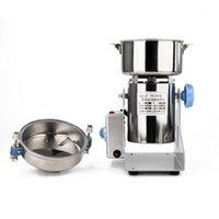 Grinder de café eléctrico Molinillo para el hogar 220V Consumidor y granos comerciales Frijoles Molino de swing Mill de alta velocidad 1000G 1500G 2000G 2500G1