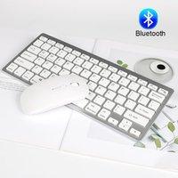 Tastiera Mouse Combs Bluetooth e impostato con tasti multimediali Combo wireless Silm per Windows Android Mac1