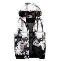 Korean Autumn And Winter Vest For Men, Warm Down Cotton Men J8481 Men's & Parkas