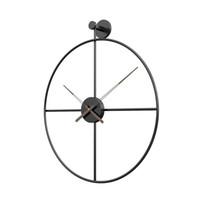 3D Большие настенные часы Современный дизайн Домашний декор Металл Instagram Часы Стильная Reloj Pared Grande Horloge Промышленные Винтаж EE50 201118