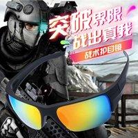 Поляризационные солнцезащитные очки США Версия Тактическая стрельба очки Ветрозащитные взрывозащищенные пуленепробивающие военные боера