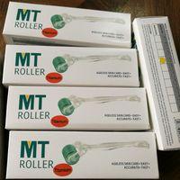 MT 192 Titainium liga de micro rolos de agulhas derma 10 tamanho, frete grátis pele dermaroller ferramenta de beleza diferente