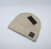 Nuovo Inverno donne lavorato a maglia cappello di marca degli uomini cappelli caldi del progettista Sport lavorato a maglia Berretti Cotone Beanie Casual