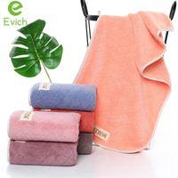 Evich 75 * 35 см / шт. Простые хлопковые взрослые лица полотенце толстые и мягкие абсорбирующие быстрое сушильное полотенце аксессуары для ванной комнаты JF055