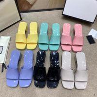 2021 nouvelles chaussures femmes gelée haut talons hauts, lumineux matériau, givré, intégration mutuelle, la couleur à choix multiples, peut être sexy, mignon, pas slippe