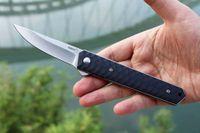 Kwaiken Flipper IKBS Folding VG10 Lâmina G10 Handle Tactical Folding Pocket Knife EDC