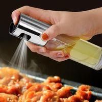 Venda Por Atacado 100 pçs / lote churrasco assando a garrafa de azeite de petróleo vinagre frascos de pulverização de água Bomba de água Barcos de molho BBQ Toalhas de cozinha salada fwd2594