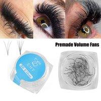 3D / 5D 80 FANS / CAIXA RÚSSIA Premade Volume Ventilador Falso Eyelashes C Curl 0.07 Espessura Semi Permanente Mink Eyelashes Aplicar rapidamente