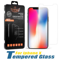 Protezione dello schermo di iPhone per 12 PRO MAX XR XS 6S 8 PLUS Samsung A71 LG Stylo 6 in vetro temperato Protector Cinema 1 Confezione Box In vendita al dettaglio