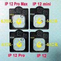 Obiettivo della fotocamera posteriore coperto protezione dello schermo in vetro temperato completa per iPhone 12 pro max / 11 Pro Max /