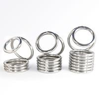 Кольцо ultimo петух с шариковым носилками, клеткой Cobra, кольцо Cobra, мужское кольцо, клетку для цепного населения, шкафчик пениса фетиша