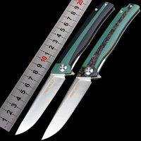 pocket atacado nova CNC D2 AÇO alça de campismo faca automática ferramenta EDC facas de caça faca de sobrevivência ao ar livre