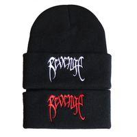 2019 Популярные Xxxtenta Revenge Вышитые Вязаная пуловер Hat Шерсть 6KKJ