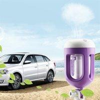 180 Grad Rotation Auto Luftbefeuchter Luftreiniger Aroma Diffusor Lufterfrischer Reiniger Aromatherapie Nebel Maker 201009