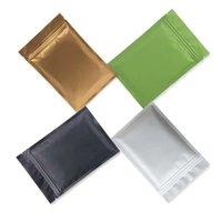Sacchetti di stoccaggio alimentari richiudibili Odore Proof Imballaggio Plastica Sacchetto di glassatura Plastica Valuta Colore Pouch Self Styled Vendita calda 0 24YW F2
