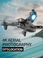 DRONE 4K HD-Kamera GPS-Drohne 5G WiFi FPV 1080P Nein Signal Return RC Hubschrauberflug 20 Minuten Drohne mit Kamera Neue Ankunft